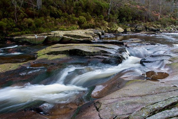 Fast flow down the river, Glentanar Estate