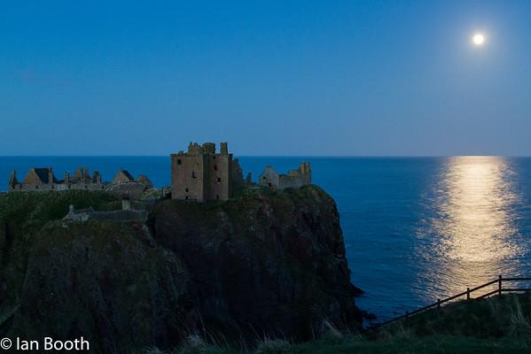 Moonrise, Dunottar Castle, Stonehaven