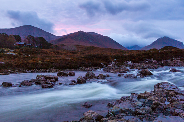 Dawn across the Sliagachan.