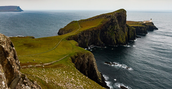 Lighthouse, Neist Point, Isle of Skye.