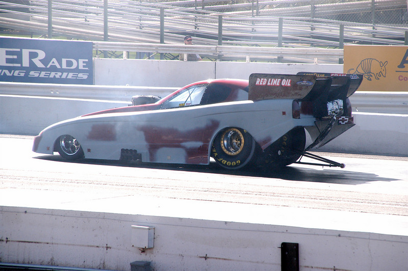 Testing at Firebird 2006, scraped the new body agains't the wall the day before.