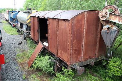 Unknown 11t Steel Gunpoweder Van  23/06/13.