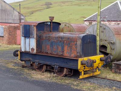 Ruston & Hornsby 4wDM 224352 Dalmellington, Ayrshire Preservation Society 18/01/07
