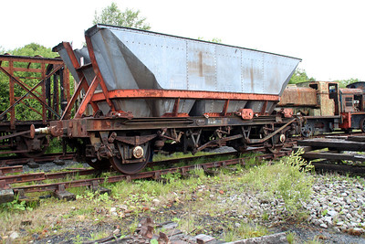 HAA 32t MGR 354456 (EX Dalmellington Derailment victim)  23/06/13.