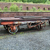 4w Flat Underframe Only possibly 12t Former 7 Plank Tippler, Now Frame Only NCB 471  23/06/13.