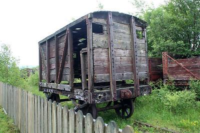 Unknown 4w Brake Van ex Ironbridge  23/06/13.