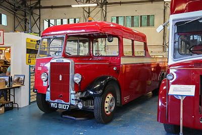 WG8107 1939 Leyland Tiger TS8 Tow Wagon W Alexander Fleet No 205.
