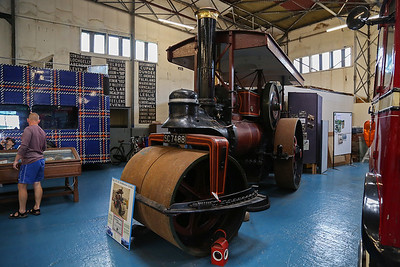 SC7488 1930 Marshall S type steam road roller Edinburgh Corporation.