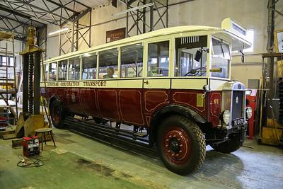 RU8678 1929 Leyland Lion LSC3 Edinburgh Corporation Transport Fleet No1. Originally delivered to Hants and Dorset.