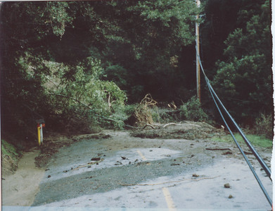 Bean Creek Road Mudslide