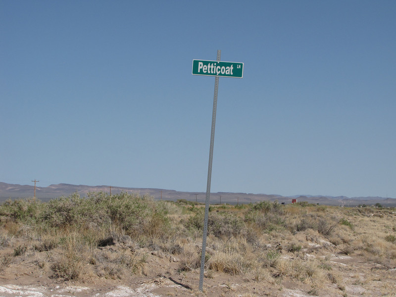 Well I wonder who lives on this street.