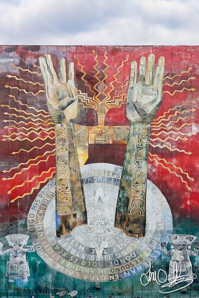 Calle de la Eternidad mural<br /> Los Angeles, CA
