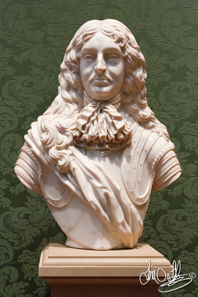 Portrait of a Man • Maker: Unknown, British • Attributed:previously attributed to Cajus Gabriel Cibber , Danish, 1630 - 1700 • marble<br /> The Huntington Library, Art Collections, and Botanical Gardens