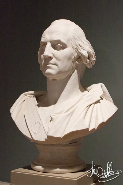 George Washington • Maker: Pierre-Jean David d'Angers , French, 1788 - 1856 <br /> • marble<br /> The Huntington Library, Art Collections, and Botanical Gardens