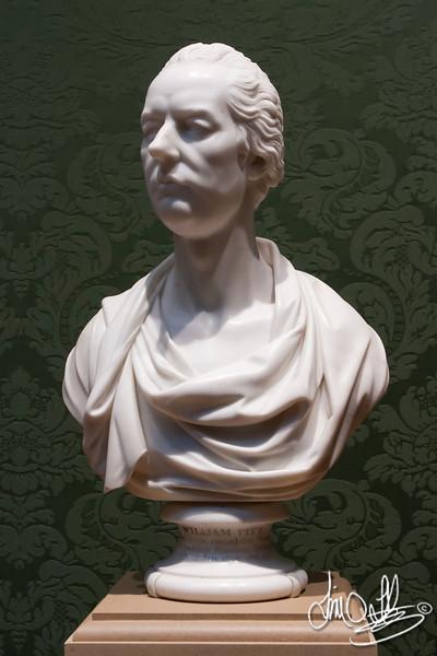 William Pitt, 1807 • Maker: Joseph Nollekens , British, 1737 - 1823 • marble<br /> The Huntington Library, Art Collections, and Botanical Gardens