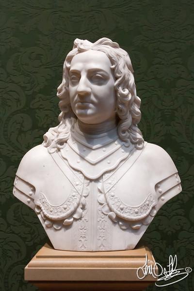 John Hampden • Maker: Michael Rysbrack , Flemish, baptized 1684, died 1770 •  marble<br /> The Huntington Library, Art Collections, and Botanical Gardens