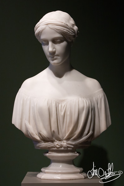 Ruth • 1853<br /> Maker: Chauncey Bradley Ives , American, 1810-1894 • marble<br /> The Huntington Library, Art Collections, and Botanical Gardens