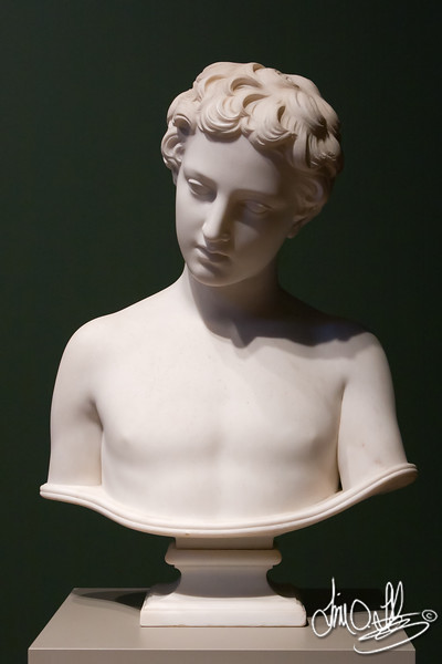 The Fisher Boy • ca. 1850 • Maker: Hiram Powers , American, 1805 - 1873 • marble<br /> The Huntington Library, Art Collections, and Botanical Gardens