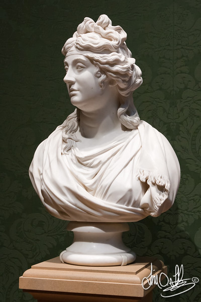 Jane Braddyll, 1795 • Maker: Joseph Nollekens , British, 1737 - 1823 • Marble<br /> The Huntington Library, Art Collections, and Botanical Gardens