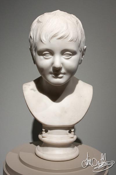 Head of Boy 1796 • Maker: Joseph Nollekens, British, 1737 - 1823 • Marble<br /> The Huntington Library • San Marino, CA