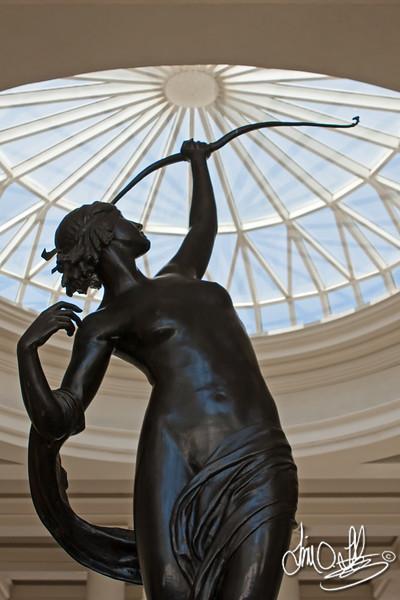 Diana of the Chase • by Anna Hyatt Huntington<br /> The Huntington Library • San Marino, CA
