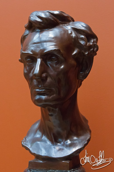 Abraham Lincoln modeled from life by Leonard W. Volk, Chicago • 1860<br /> The Huntington Library • San Marino, CA
