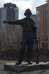 We were there, by Douglas Coupland, 2012. Canadian Firefighters Memorial