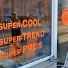 Shop in Berlin, Germany in February 2014. Super cool, super trend, super price!