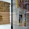 Art gallery in Berlin, Germany in February 2014. Arrows in a board!