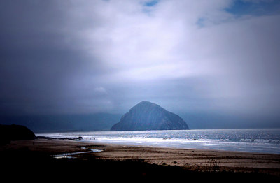 Morro Bay California - the rock.