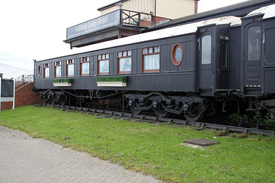 Either Sapphire/Padua/Rosalind, part of 4 coaches that make up 'The Pullman Lodge' Seaburn. 23/06/12