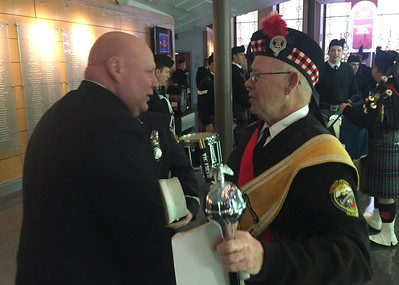 Deputy Chief James Stoudt & John Metzler (ret. PFD)