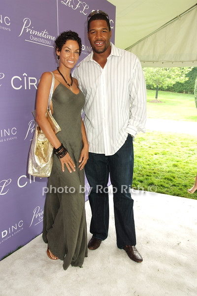 Nicole Murphy, Michael Strahan<br /> photo by Rob Rich © 2008 516-676-3939 robwayne1@aol.com
