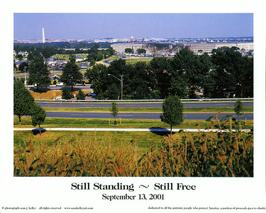 Poster designed by Sean Kelley and sold for MC-LEF. Sarted selling in a lot of PX's  across the US and  Pentagon gift stores and Arlington Cemetery gift store starting around may 2002.