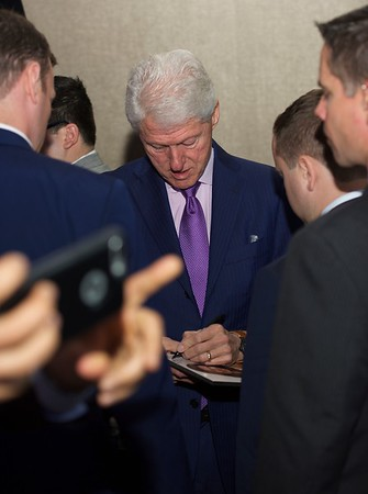 PRESIDENT BILL CLINTON. MCLEAN, VIRGINIA. MAY 2017