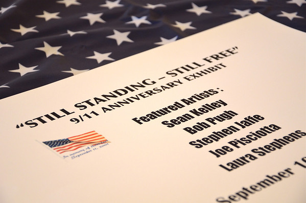 """My traveling photography exhibit. """"Still Standing- Still Free"""" 9/11 Photography Exhibit. I am the curator and contributing photographer. Fairfax, Virginia. 2011. Please contact me if you would like to """"host"""" the exhibit. (703.966.6520)"""