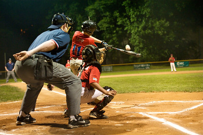 Vienna Little League home run.Vienna, Virginia. 2012