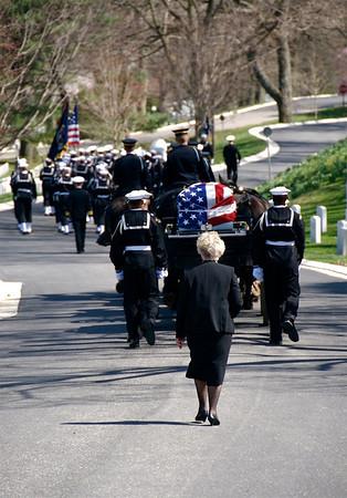 Arlington Cemetery Service. Arlington, Virginia. 2009