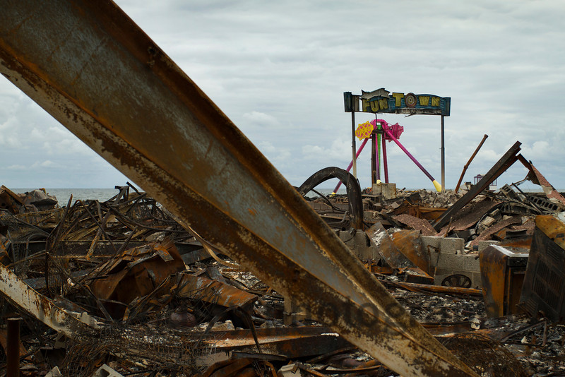 Funtown, after the fire