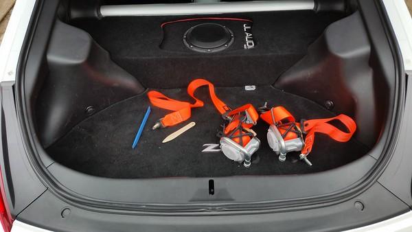 Seat belt install