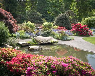 Pond, Kubota Garden