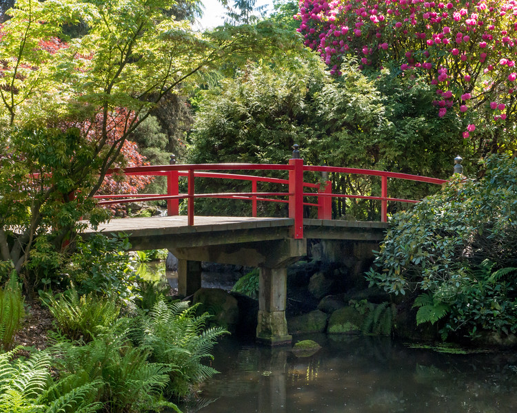 Bridge, Kubota Garden