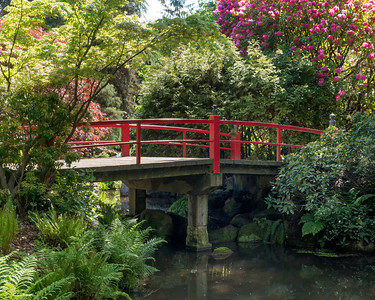 Bridge, Kubota Garden