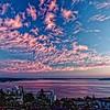 Sunset over Puget Sound.