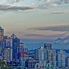 """Another view from Kerry Park when the mountain is """"out."""""""