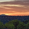 Sunset looking towards the Magnolia neighborhood.