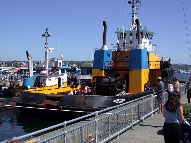Tugboat...