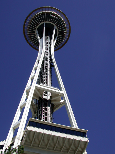 The Space Needle at the Seattle Center 2