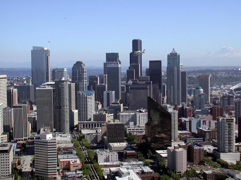Seattle from the Space Needle 1