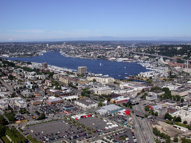 Seattle from the Space Needle 2